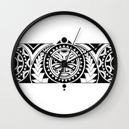 Maori Wall Clock