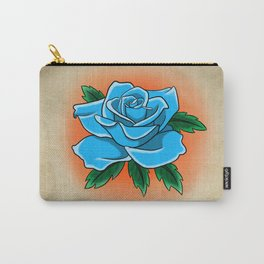 Blue rose tattoo flash Carry-All Pouch