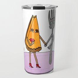 Pie-n-Fork Travel Mug