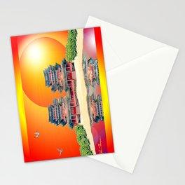Double Pagoda Stationery Cards