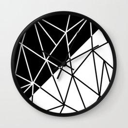 ART DECO (BLACK-WHITE) Wall Clock