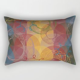 Vintage Spirals Rectangular Pillow