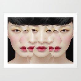 Bird Eyes / Over All Art Print