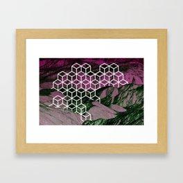 Derelict Isometric Framed Art Print