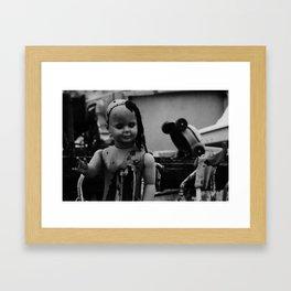 Heidelberg Doll Framed Art Print