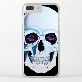 Skully Clear iPhone Case