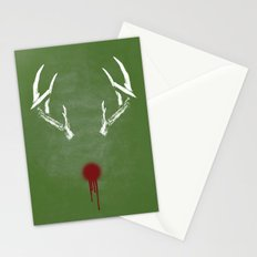 Rudolph the Bloody Nosed Reindeer Stationery Cards