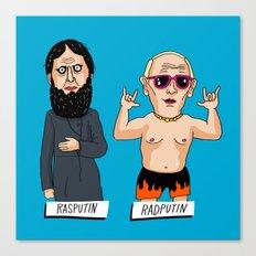 Rasputin and RadPutin Canvas Print