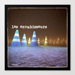 Gang de Cônes - Les Envahisseurs Canvas Print