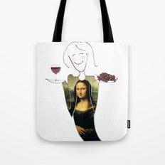 She Hearts Mona  Tote Bag