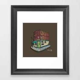 brickhouse Framed Art Print