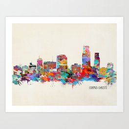 Corpus Christi Texas Art Print