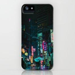 Winter Rain iPhone Case