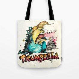 Trumpzilla Tote Bag