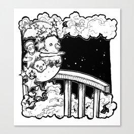 Dream: New Year Canvas Print