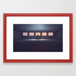 Stray Dogs 08  /  Discovery Framed Art Print