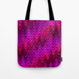WAVY #2 (Purples, Fuchsias, Violets & Magentas) Tote Bag