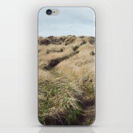 Oregon Dune Grass Adventure - Nature Photography iPhone Skin
