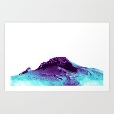 LOST TIME MOUNTAIN Art Print