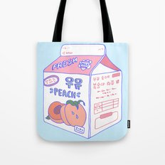 Peach Milk Tote Bag