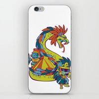 mexican iPhone & iPod Skins featuring Mexican Gods by Andrea ED