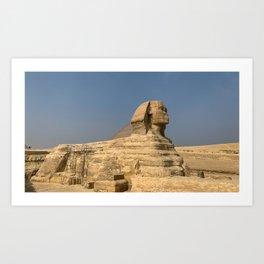 Egypt - Great Sphinx of Giza Art Print