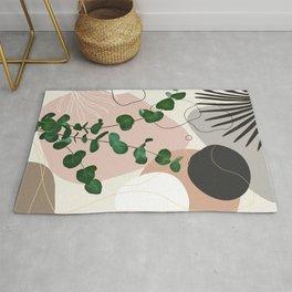 Eucalyptus Fan Palm Finesse #1 #tropical #decor #art #society6 Rug