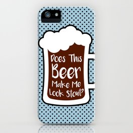Beer Stout iPhone Case