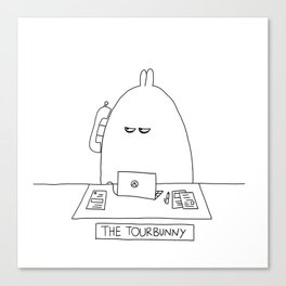 The TourBunny - Phone Canvas Print