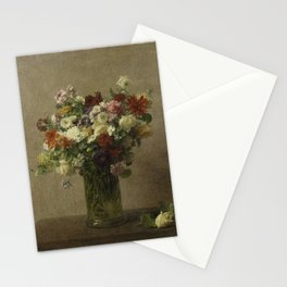 Flowers from Normandy by Henri Fantin-Latour Stationery Cards