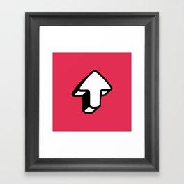 Comic Arrow 01 Framed Art Print