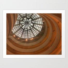 Guggenheim Museum | New York  Art Print