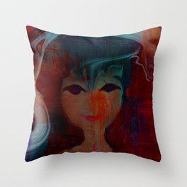 SHERRI BABY Throw Pillow