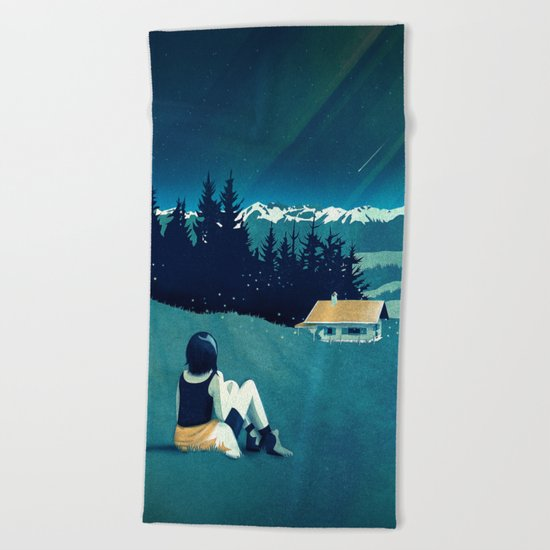 Magical Solitude Beach Towel
