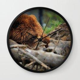 Kodiak Bear Wall Clock