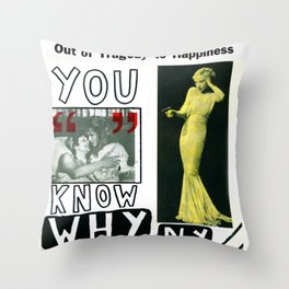 You Know Why NY Throw Pillow