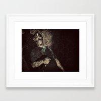 mf doom Framed Art Prints featuring MF Doom by Ferdinand Bardamu