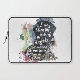 Sherlock Side of the Angels Laptop Sleeve