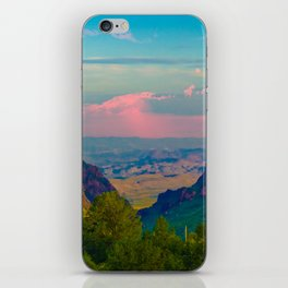 Chisos Mountain Park Big Bend Texas iPhone Skin