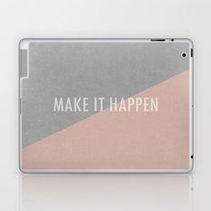 Concrete & Letters Laptop & iPad Skin