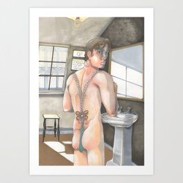 Everybody has their Beauty, but not everyone sees it Art Print