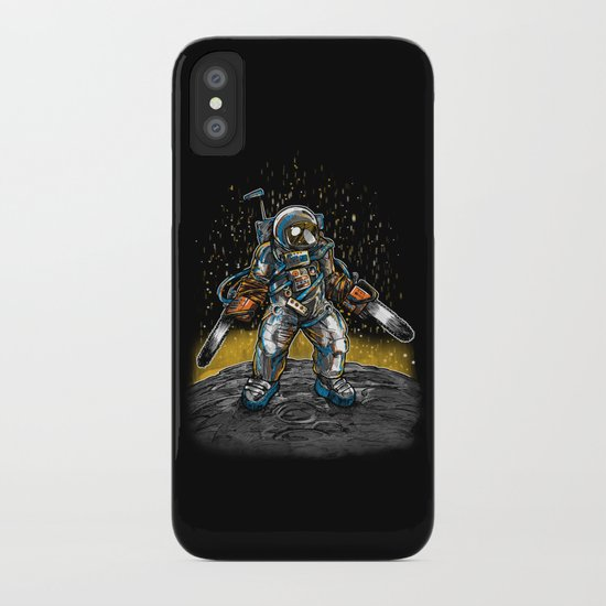 Texas Chainsaw Astronaut iPhone Case
