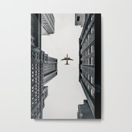 City Calm Down Metal Print