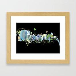 Oxygen CO2 Framed Art Print