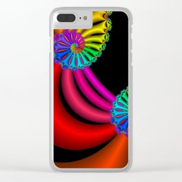 life is colorful -6- Clear iPhone Case