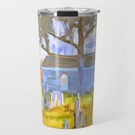 Pop Art Church Travel Mug