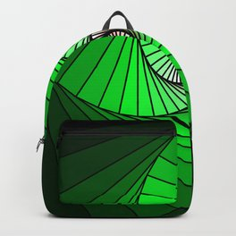 Spirale en vert, 2140b Backpack