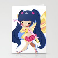 musa Stationery Cards featuring Musa by gillyfleurillustration