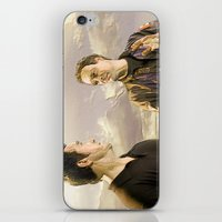 stargate iPhone & iPod Skins featuring Goodbye Carson by Samy