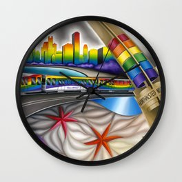 Windy City Pride Wall Clock